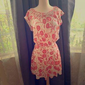 Orange Floral Dress from Anthropologie - SizeM